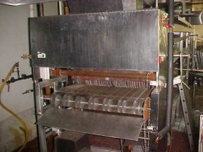 """FOSTORIA 48"""" WIDE X 18' LONG GAS FIRED STAINLESS OVEN"""