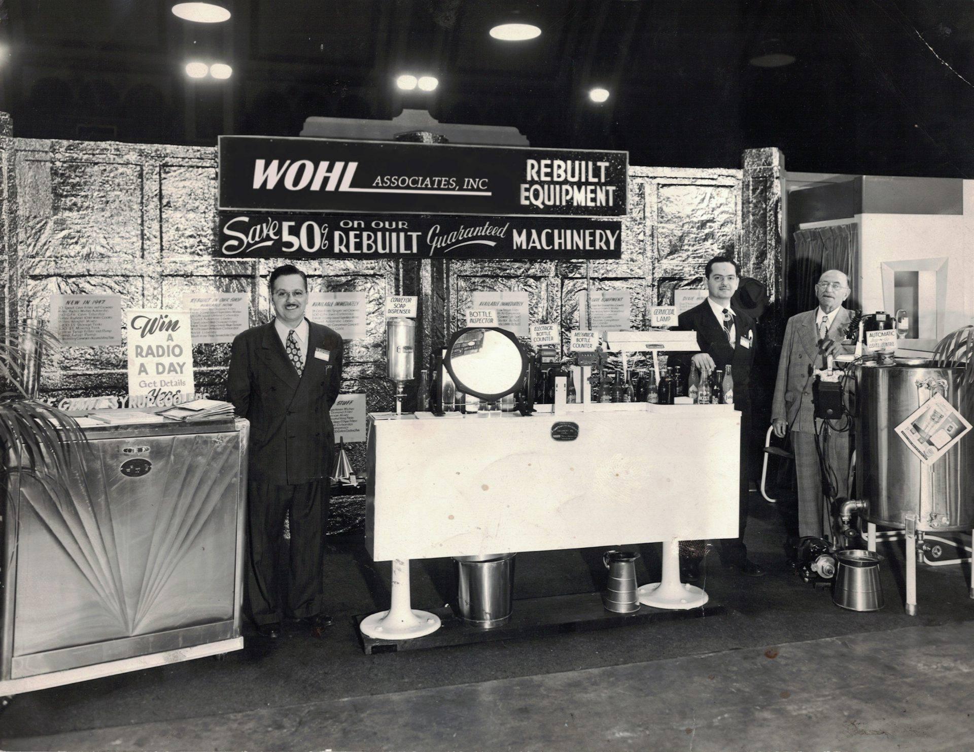 Wohl Associates used equipment