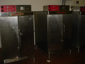 BLODGETT RE-42 STAINLESS STEEL ELECTRIC OVENS (3)