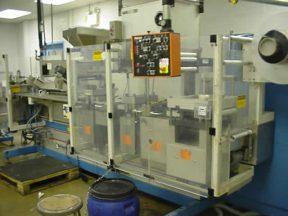 UHLMANN UPS-2-ET BLISTER PACKAGING MACHINE, PHARMACEUTICAL