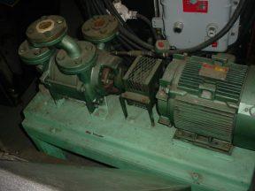 SIHI LPHF40411 LIQUID RING VACUUM PUMP, 7-1/2HP