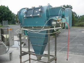 REIMELT CONTINUOUS CENTRIFUGAL POWDER SIFTER, 3HP XP