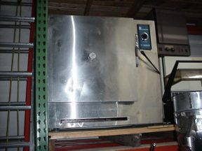 FORMA SCIENTIFIC STAINLESS ELECTRIC OVEN, ON CASTERS