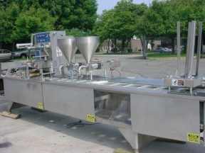 FORDS HOLMATIC PR-2S CUP/TRAY PACKAGING LINE