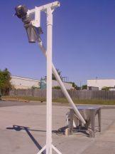 """AMS 3-1/2"""" X 14' FLEXIBLE SCREW FEEDER, MFG. 2007"""