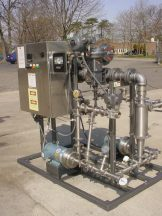 PICK C.I.P. SANITARY HEATING SYSTEM WITH PUMPS