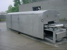 BERIEF CONTINUOUS BELT GRILL, STAINLESS STEEL