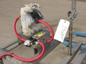 ALL-FLO BKD-5 AIR OPERATED DOUBLE DIAPHRAGM PUMP