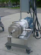CHARLOTTE SD-20 TYPE 316 STAINLESS STEEL COLLOID MILL 20 HP STAINLESS STAND