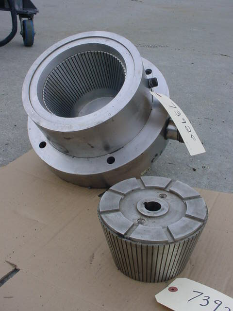CHARLOTTE SD-20 ROTOR/HOUSING FOR COLLOID MILL, 316 STAINLESS