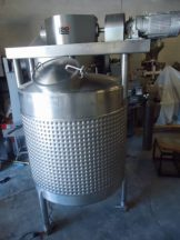 550 GALLON LEE STAINLESS DOUBLE  MOTION MIXING KETTLE TANK, JACKETED