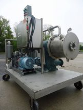 CORNELL D16 STAINLESS STEEL SANITARY VERSATOR WITH SIHI VACUUM PUMP & FILTER EXPLOSION PROOF