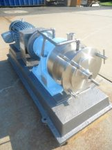 CHARLOTTE SD-20 STAINLESS STEEL COLLOID MILL, 20 HP