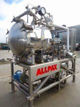 ALLPAX 2402 STAINLESS STEEL R & D RETORT, PROGRAMMABLE
