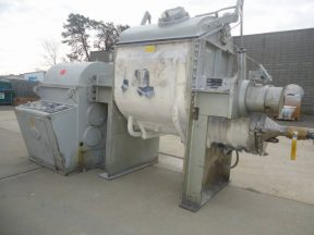 AMK 120 GALLON DOUBLE SIGMA ARM MIXER-EXTRUDER, JACKETED