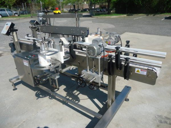 KETAN LS80 FRONT & BACK LABELING SYSTEM,  STAINLESS STEEL
