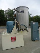 60 GALLON KADY MILL, STAINLESS STEEL, JACKETED, 30 HP