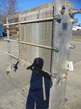 Cherry Burrell 214 Plate All Stainless Steel Heat Exchanger