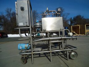 GMP SYSTEMS AUTOMATIC CIP SYSTEM, STAINLESS STEEL