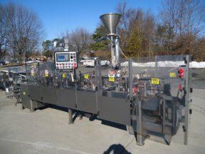 BARTELT/HMC IM 9-10 HORIZONTAL F/F/S POUCH MACHINE WITH ZIPPER ATTACHMENT