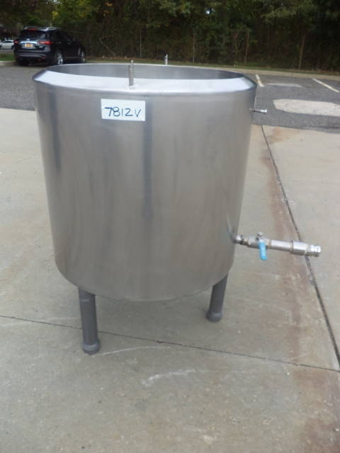 100 gallon stainless steel tank, insulated