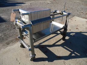 Ertel 16 in. X 16 in. Stainless  Steel Filter Press, Portable