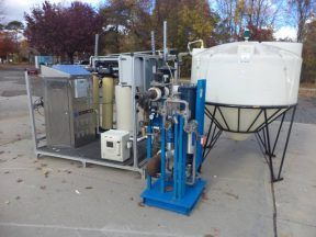 Ionics reverse osmosis water filtration system