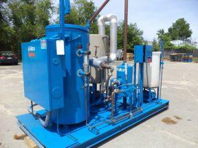 Fulton FB-100-L Electric Boiler System, Skid Mounted