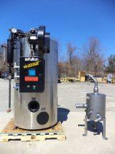 Fulton FB-020-F Natural Gas Steam Boiler, stainless shrouding
