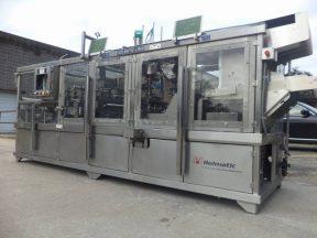 "Holmatic OF-2340 ""OPTI-FIL"" Four Lane Cup Filler/Sealer/Overcap System"