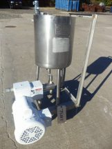 7 Gallon Process Systems Stainless Steel Tank With Milton Roy Proportioning Pump