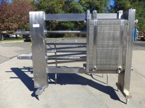 APV 134 Plate Stainless Steel Heat Exchanger, Sanitary