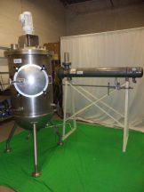 50 Gallon Lee Jacketed Vacuum Agitated Kettle, 316 Stainless Steel
