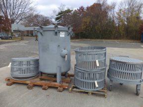 FMC Vertical Basket Retort/Sterilizer With Baskets