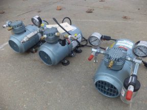 Gast 16HP Vacuum Pumps (3), Like New