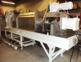 Hosokawa Bepex RSP-16-K2 Dewatering Screw Press, Stainless Steel