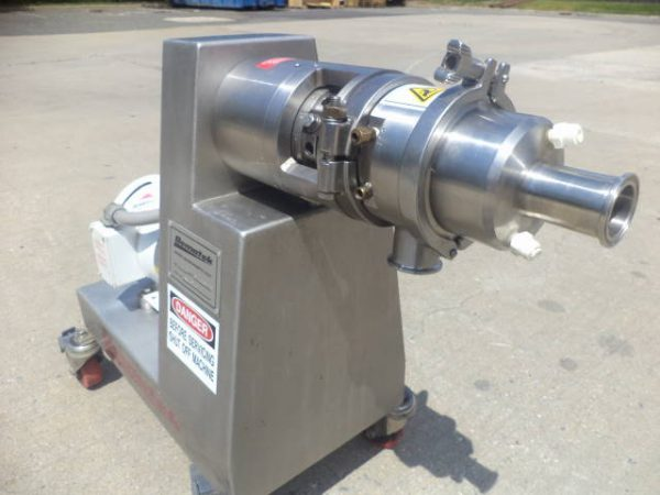 Bematek CZ-110-PB Type 316L Stainless Colloid Mill, Grooved Rotor
