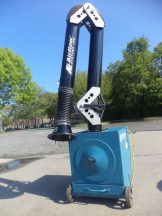 Airflow PCH-1 Portable Dust Collector, with E-Z Arm Extractor Arm