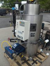 Columbia CT Gas Fired Boiler , Rating HP 6,  150 PSI WP, Single Phase Electrics