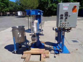 Hockmeyer HM-2.5/6-07 Immersion Mill, 10 HP, Explosion Proof