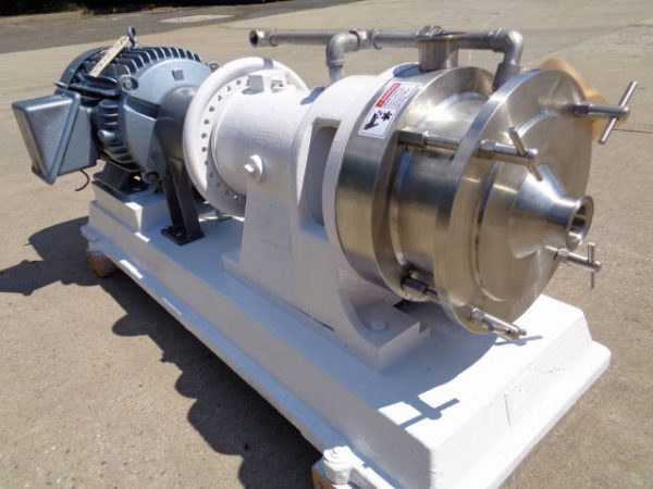 Charlotte SD-40 Stainless Steel Colloid Mill, 40  HP