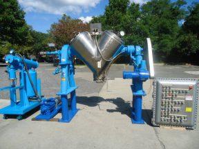 10 cu. ft. Patterson Kelley Stainless Steel Twin Shell Vacuum Blender/Dryer/Processor, 125 lb./CF max density