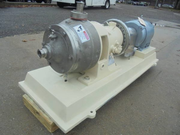 Charlotte G30 Stainless Steel Horizontal Colloid Mill, 15HP