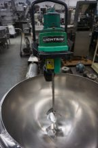 Lightnin Air Operated Clamp On Mixer, SS Shaft