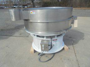 Sweco 48 In. Stainless Steel Screener/Separator, 2.5 HP