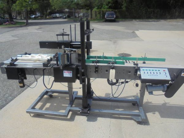 Autolabe Front and Back Pressure Sensitive Labeler