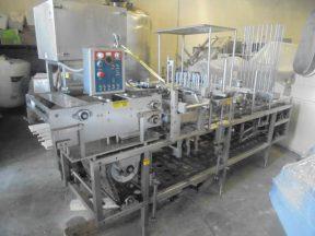 Autoprod FP 2X4 Four Lane  Cup Filling/Sealing/Lidding Machine, 240 Per Minute
