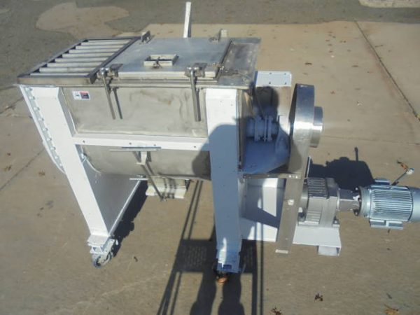 15 Cu. Ft. Stainless Double Ribbon Blender, Portable