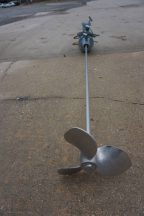 Chemineer 1 HP Explosion Proof Clamp On Prop Mixer