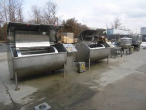 CLEVELAND COOK CHILL PROCESSING and PACKAGING LINE